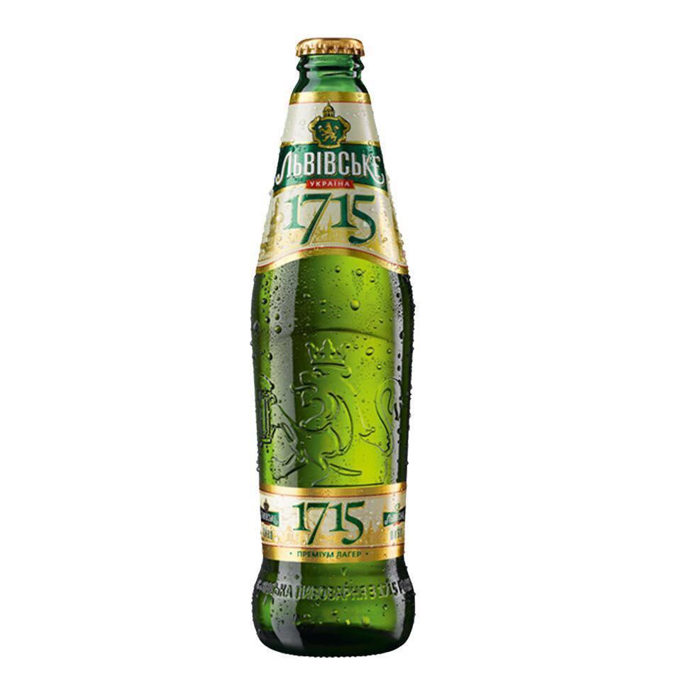 Bia Nga (Ukraina) Lvivske 1715 4,7% (450ml)