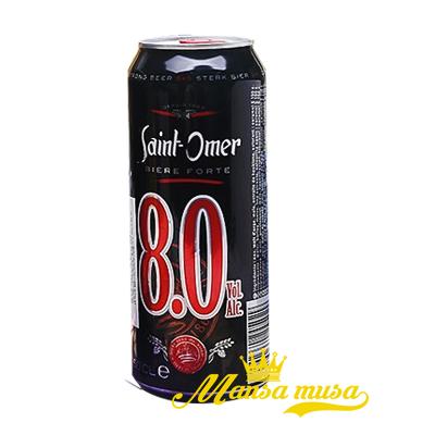 Bia Pháp Saint Omor 8% lon 500ml