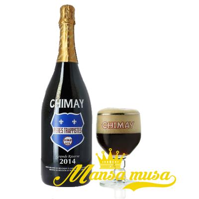 Bia Chimay xanh 9% chai 3000ml