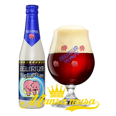 Bia Bỉ Delirium Nocturnum 8,5% (chai 330ml)