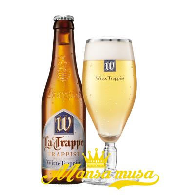 Bia Hà Lan La Trappel Witte Trappist 5,5% (chai 330ml)