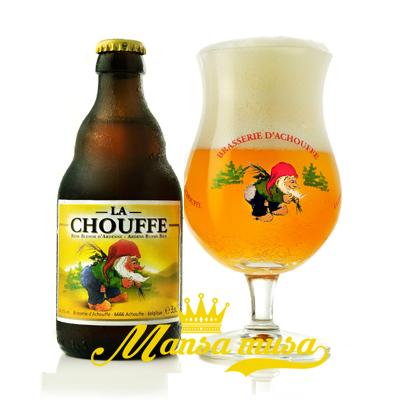 Bia La Chouffe Bỉ 8% chai 330ml