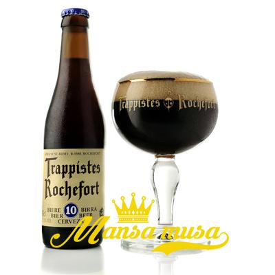 Bia Bỉ Rochefort 10 (11,3% chai 330ml)