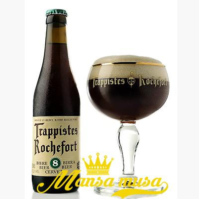 Bia Bỉ Rochefort 8 (9,2% chai 330ml)