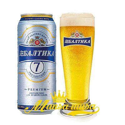 Bia Baltika 7 Nga 5,4% lon 1000ml