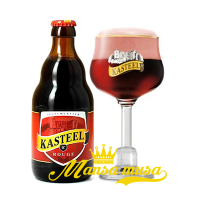 Bia Kasteel Rouge 8% – Chai 330ml