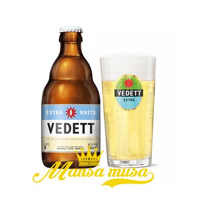 Bia Vedett Extra White Bỉ 4,7% chai 330ml