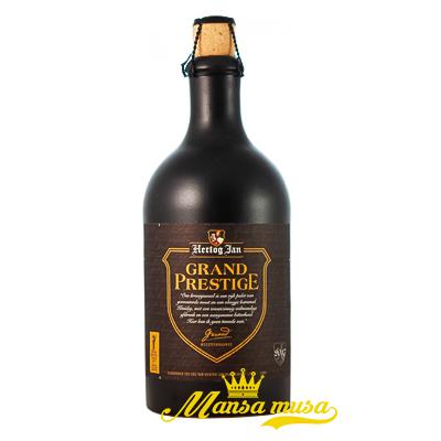 Bia Hertog Jan Grand Prestige 10% chai 500ml