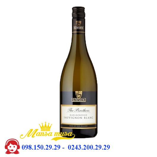 Vang The Brothers Sauvignon Blanc 2016