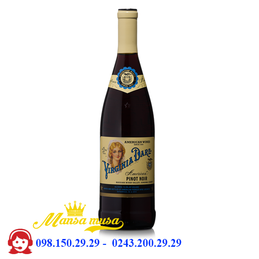 Vang Virginia Dare Pinot Noir 2015