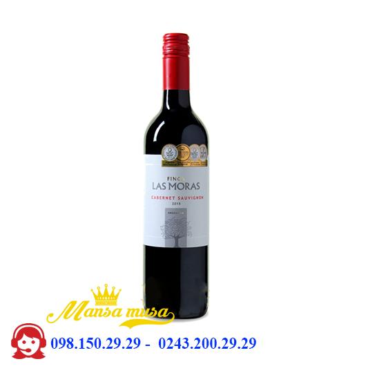 Rượu vang đỏ Argentina Las Moras Cabernet Sauvignon