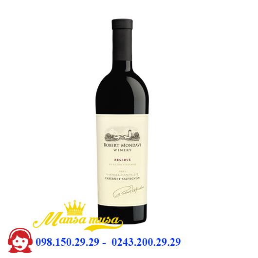 Vang Mỹ Robert Mondavi Winery Napa Valley Reserve