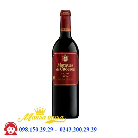 Vang Tây Ban Nha Marques de Caceres Crianza Rioja