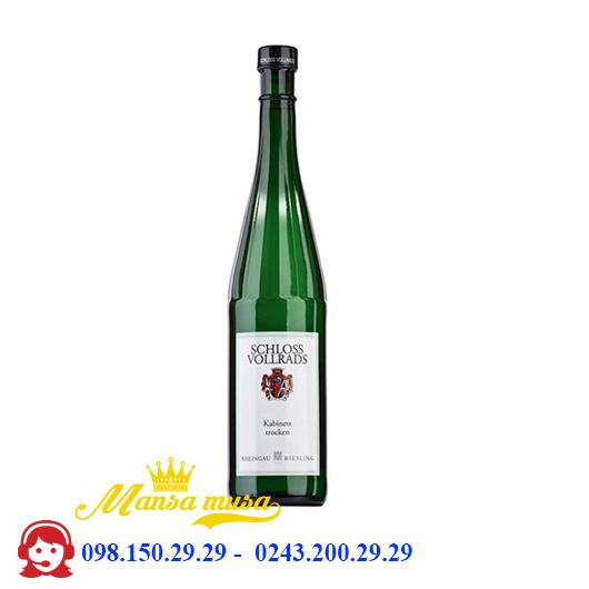 Vang Đức Sholoss Vollrads, Estate Riesling ( fruity sweet)