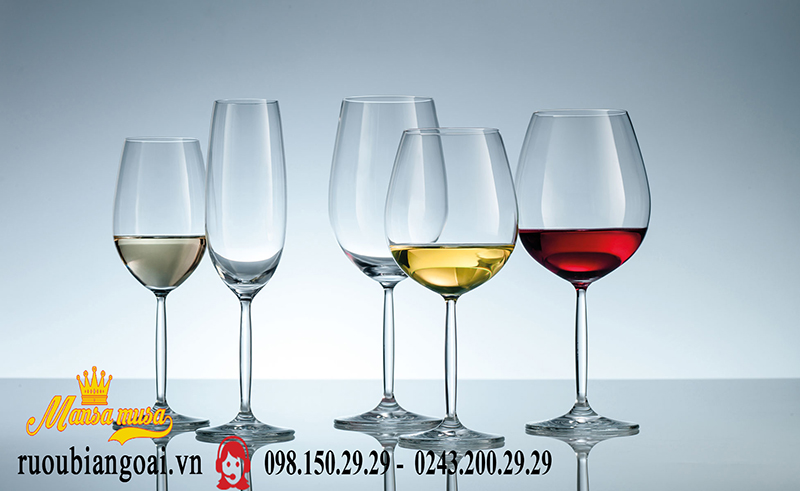 Ly Vang Đức Schott Zwiesel Champagne Diva 77