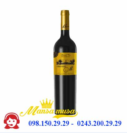 Vang Chile Château M Grand Vin (Gold label)