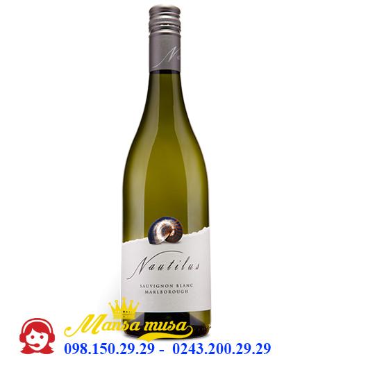 Vang New Zealand Nautilus Sauvignon Blanc