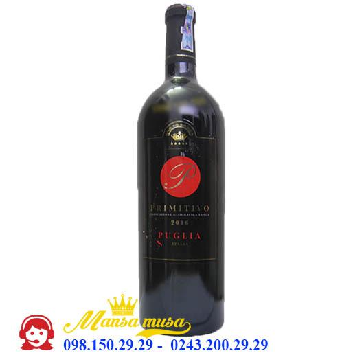 Vang Ý P Primitivo Puglia