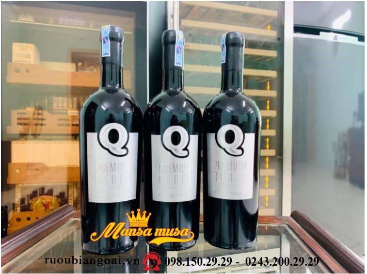 Vang Ý Q Premium Reolo