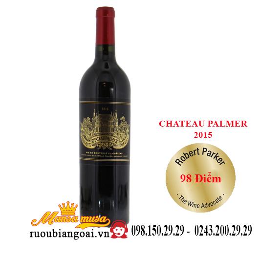 Rượu vang Pháp Chateau Palmer 2015