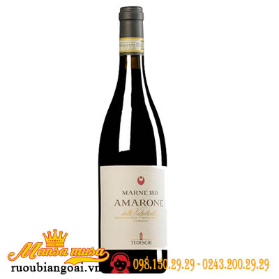 Rượu Vang Ý Amarone MARNE 180