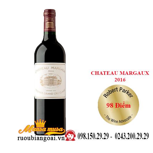 Vang Pháp Chateau Margaux 2016
