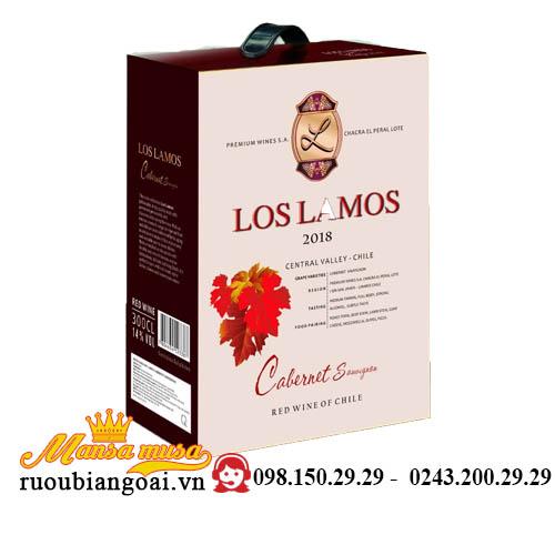 Rượu Vang Bịch Chile Los Lamos