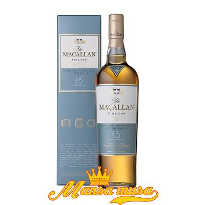 Rượu Macallan 15 Fine Oak