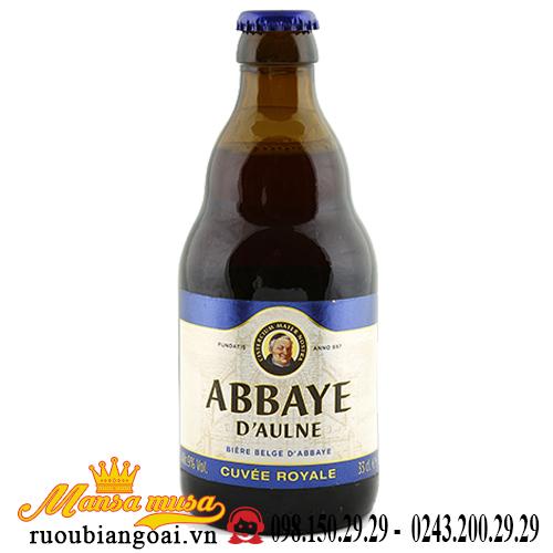 Bia Abbaye D'aulne Cuvee Royale