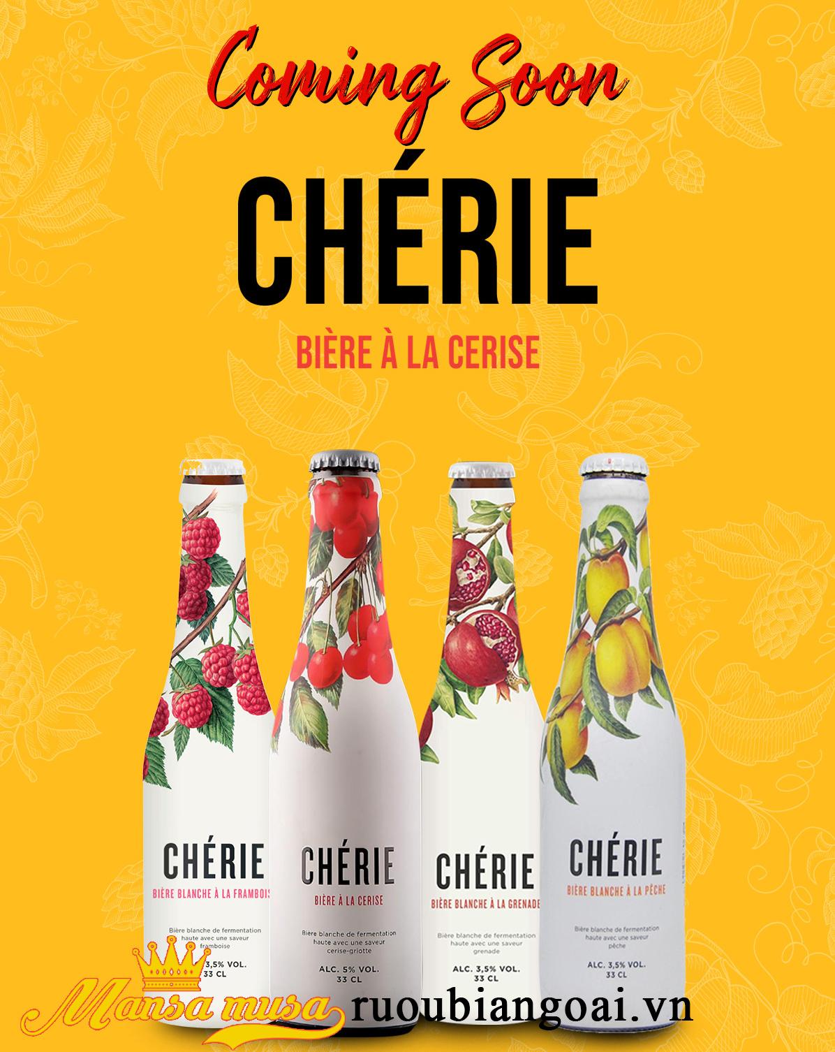 Bia Bỉ Cherie Cerise