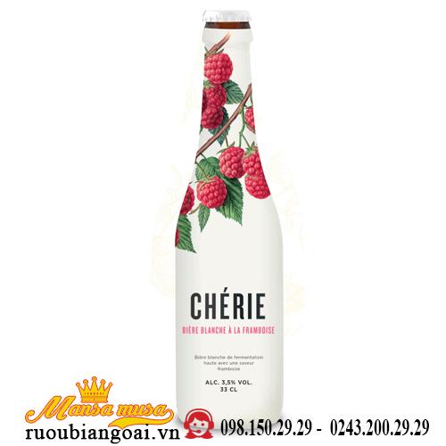 Bia Bỉ Cherie Framboise