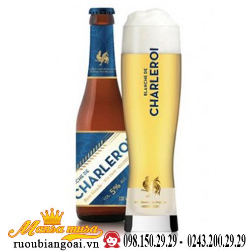 Bia Blanche De Charleroi