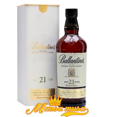 Rượu Ballantines 21 năm