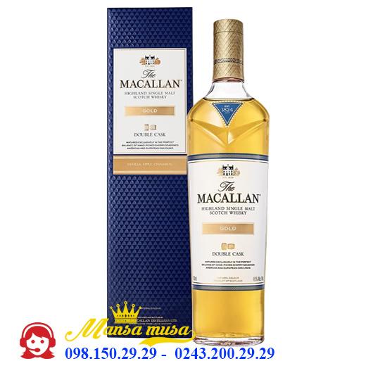 Rượu Macallan 1824 Gold Double Cask UK