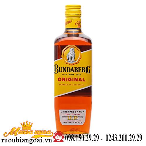 Rượu Rum Bundaberg