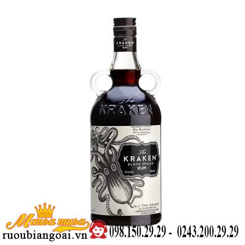 Rượu rum Kraken