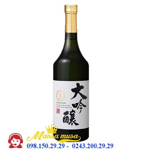 Rượu Sake Daiginjo