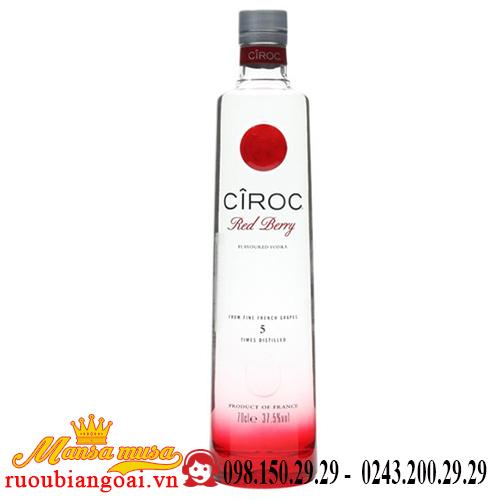 Rượu Vodka Ciroc Red Berry