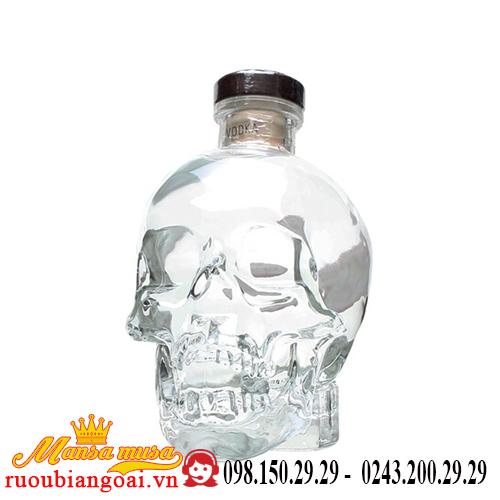 Rượu Vodka Crystal Head 1.75L