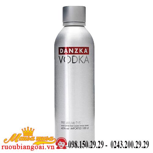 Rượu Vodka Danzka nhôm 1 lít
