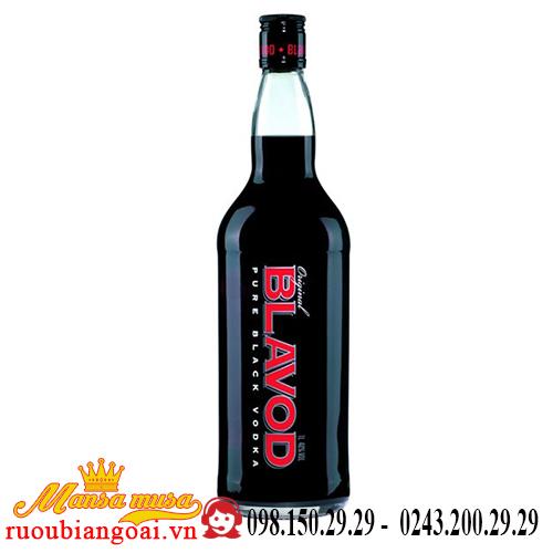 Rượu Vodka Đen Blavod 1L