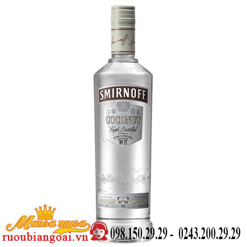 Rượu Vodka Smirnoff Coconut