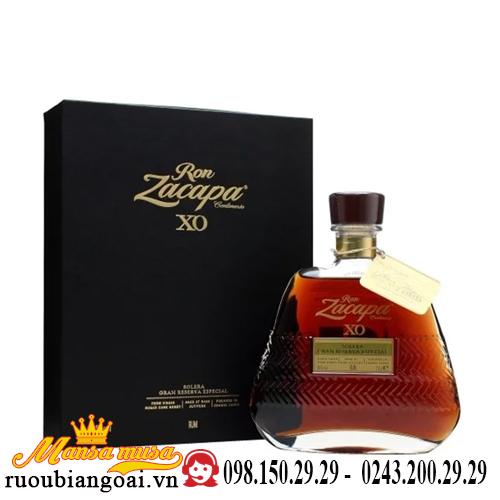 Rượu Zacapa XO