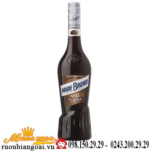 Rượu Mùi Marie Brizard Brown Cacao