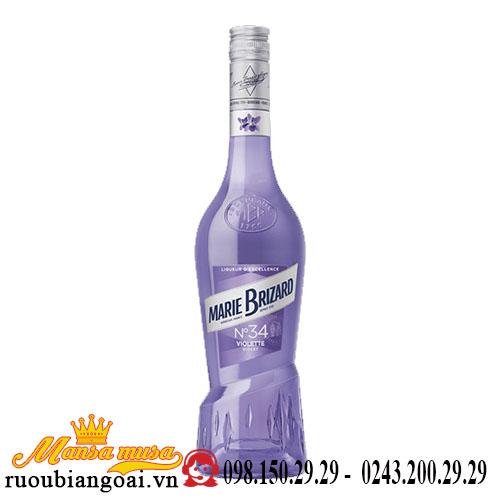 Rượu Mùi Marie Brizard Violet
