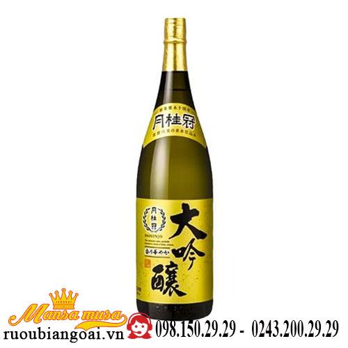 Rượu Sake Gekkeikan Daiginjo 1800ml