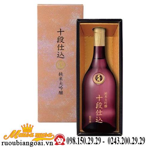 Rượu Sake Ozeki Junmai Daiginjo Judan Jikomi 700ml