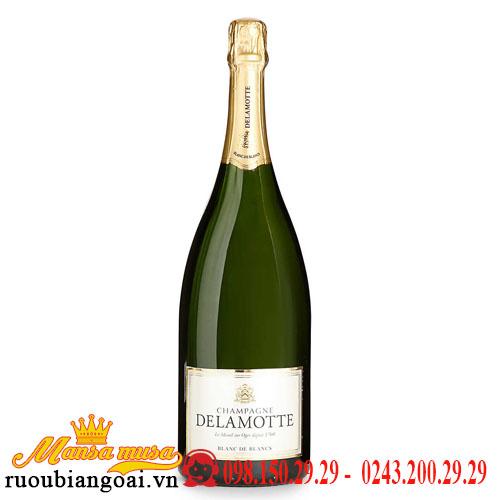 Rượu Vang Nổ Delamotte Champagne Blanc de Blancs