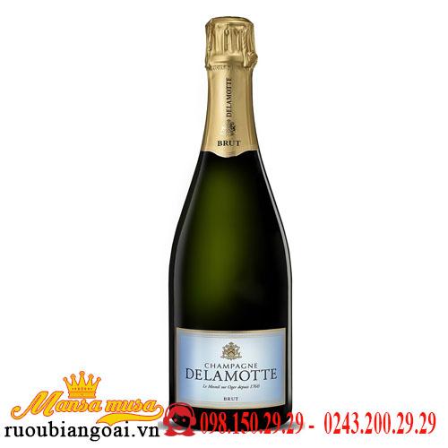 Rượu Vang Nổ Delamotte Champagne Brut