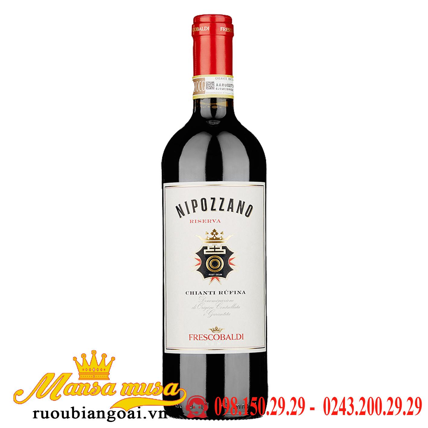 Vang Ý Nipozzano Riserva – 375 ml